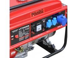 Генератор бензиновый (электростанция) Brado LT7000EВ