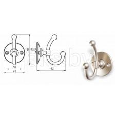 Крючок мебельный D-070