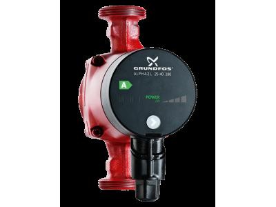 Циркуляционный насос для систем отопления Grundfos Alpha 2 L 25-40