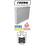Панельные радиаторы Rozma, тип 22, высота 500 мм