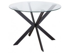 Стол кухонный стеклянный Dallas, , 278.00 руб., Стол Dallas, SEDIA, Monsoon International Limited, Китай, Столы