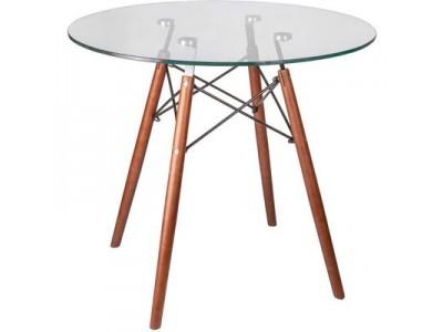 Стол кухонный стеклянный Leila 800*750